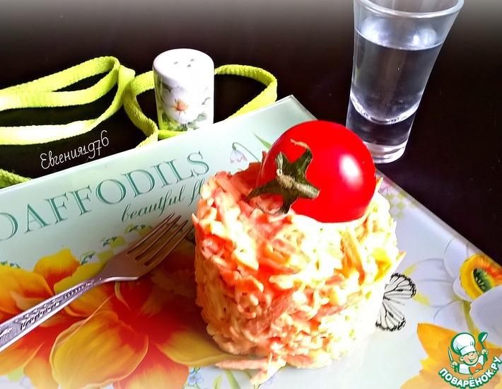 Рецепт: Салат из моркови с сыром