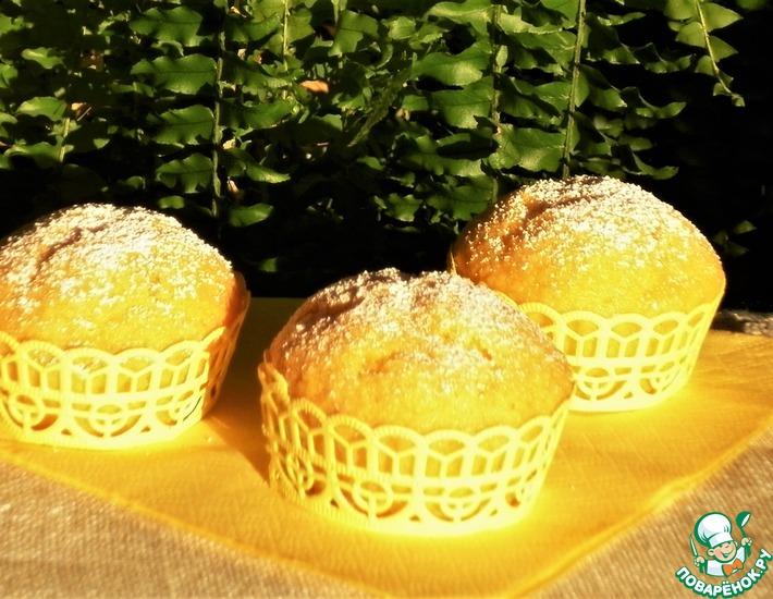 Рецепт: Морковно-миндальные кексы