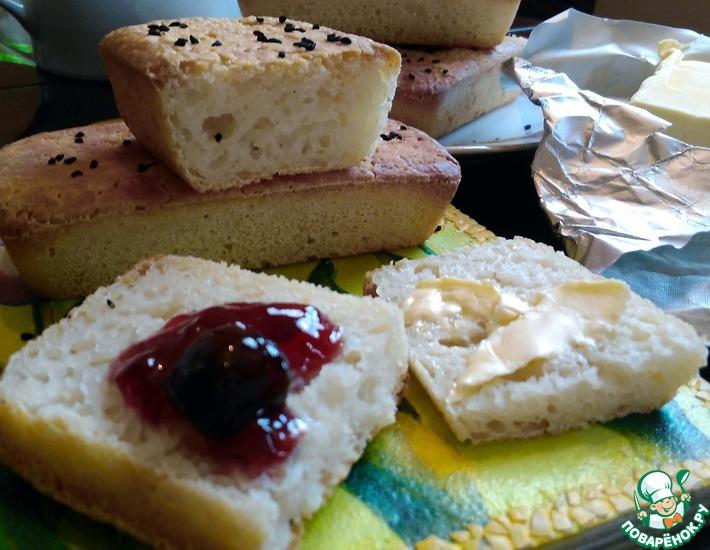 Рецепт: Рисовый хлеб Золотой слиток