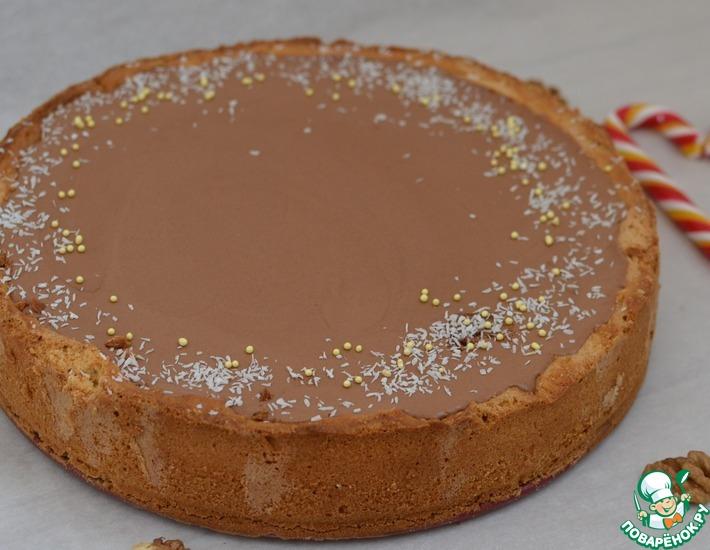 Рецепт: Шоколадно-банановый тарт