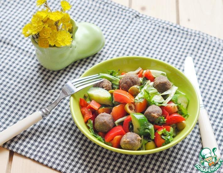 Рецепт: Салат Стариковская еда