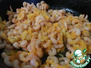 Add shrimp. Simmer no more than 2 minutes.