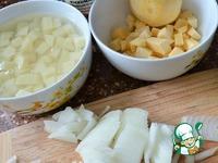 Пирожки слоеные с картофелем ингредиенты