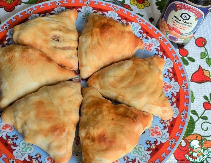 Рецепт: Пирожки слоеные с картофелем