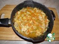 Сливочная подлива с курицей ингредиенты