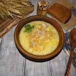 Суп мясной Молочно-сырный