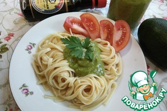 Рецепт: Постный универсальный соус из авокадо