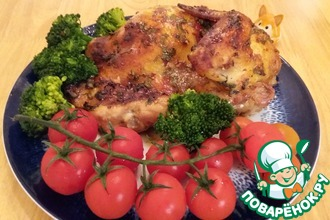 Рецепт: Кукурузный цыпленок Две половинки