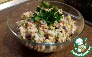 Lenten season the mayonnaise to taste and our salad is ready!  Angel you for a meal!
