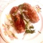 Колбаски с булгуром