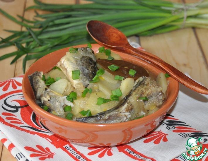 Рецепт: Рыба в карельском стиле
