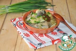 При подаче посыпаем по желанию зеленью или зелёным луком.    Подаём горячим или холодным.    Приятного аппетита!