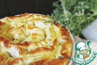 Рецепт: Закусочный лаваш с фасолью и курицей