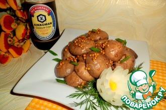Рецепт: Маринованные шампиньоны в соевом соусе