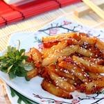 Картофель с перцем чили по-китайски