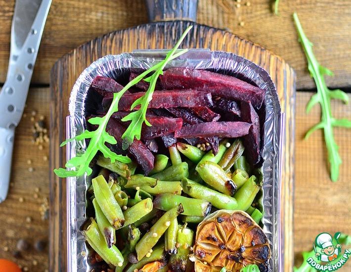 Рецепт: Запеченные овощи на гарнир или салат