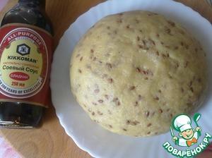 Get lean soft and pliable dough.