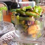 Салат с зелёной фасолью