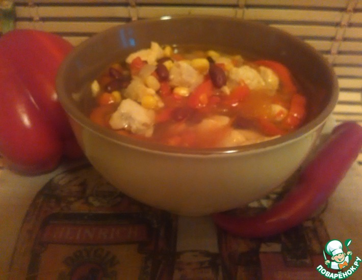 Рецепт: Суп по-мексикански