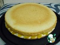 Бисквитный торт Персиковый рай ингредиенты