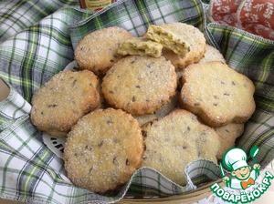 Готовое печенье немного остудите, и подавайте с чаем или компотом.    Приятного аппетита!
