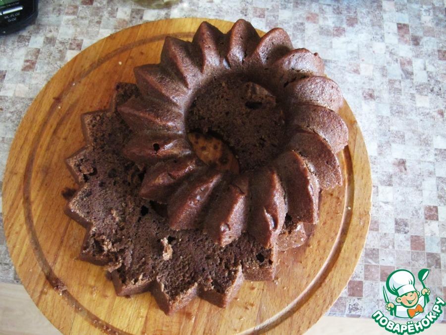 Торт постный с ягодным муссом