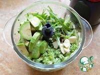 Паста из брокколи и авокадо ингредиенты