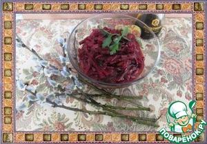 Накрываем крышкой и оставляем остывать. Самый вкусный салат - холодный, но вкусно и в теплом виде.   Приятного!