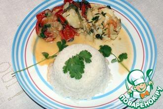 Рецепт: Рыбная мукека с рисом