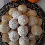 Печенье Апельсиновые шарики