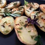 Картофель, запеченный с ароматными травами