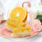 Рисово-творожная запеканка с апельсином
