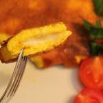 Воздушный омлет с сыром