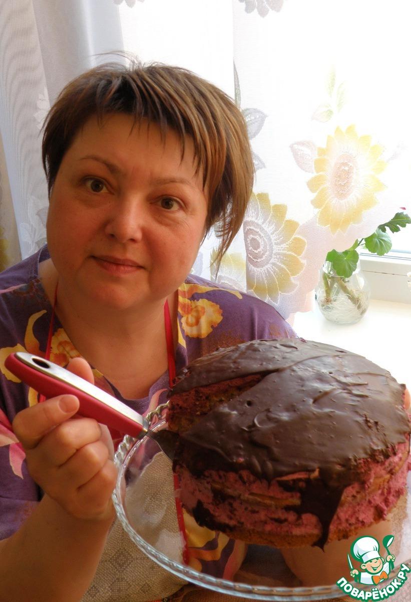 Торт с муссом «Сиреневый туман»