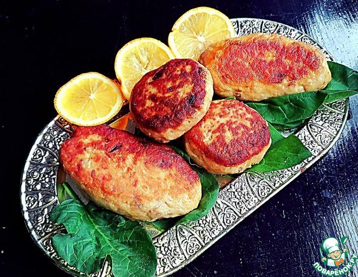 Рецепт: Котлеты рыбные Монастырские