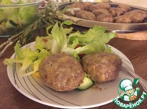 Подавать с любым гарниром или овощным салатом.