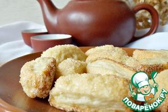 Рецепт: Постное сахарное печенье