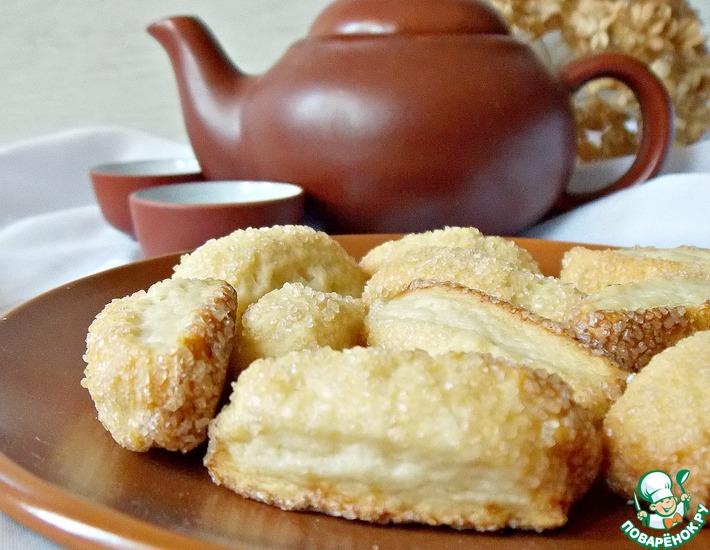 Постное сахарное печенье