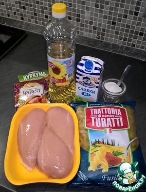 Вот наш нехитрый набор продуктов, который всегда найдется на любой кухне.