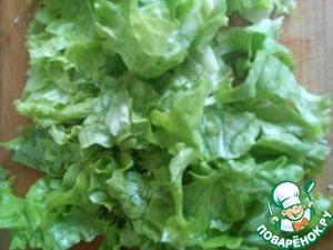 Salad break hands