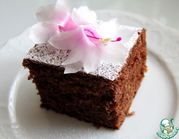 Рецепт: Шоколадно-банановый пирог по-египетски