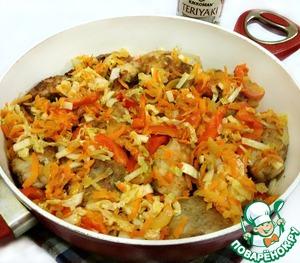 Треска с овощами – кулинарный рецепт