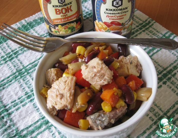 Рецепт: Салат Палитра вкусов