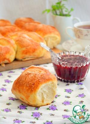 Рецепт: Ванильные булочки на сыворотке