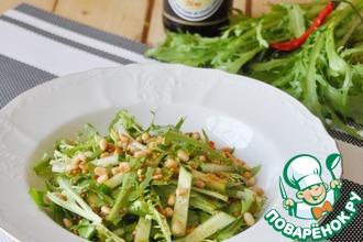 Рецепт: Салат с рукколой по-китайски Одуванчики