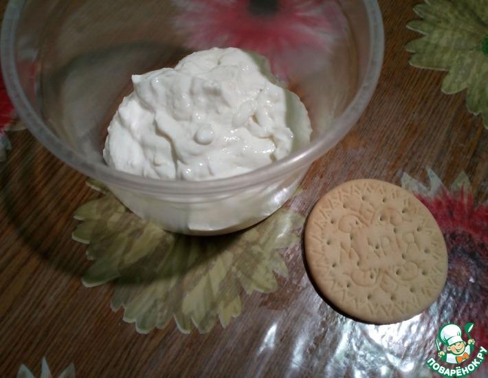 Рецепт: Творожный десерт Для манюни