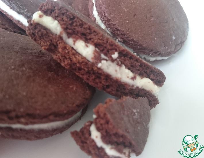 Рецепт: Печенье Шоколадный восторг