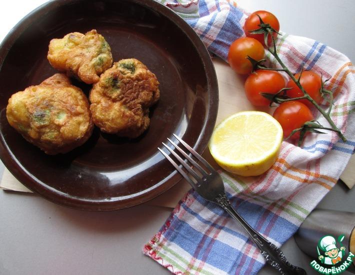 Рецепт: Пончики с брокколи