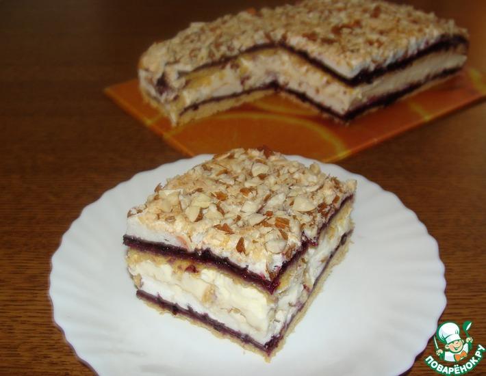 Рецепт: Торт Пани Валевска