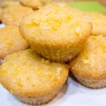 Влажные лимонные кексы